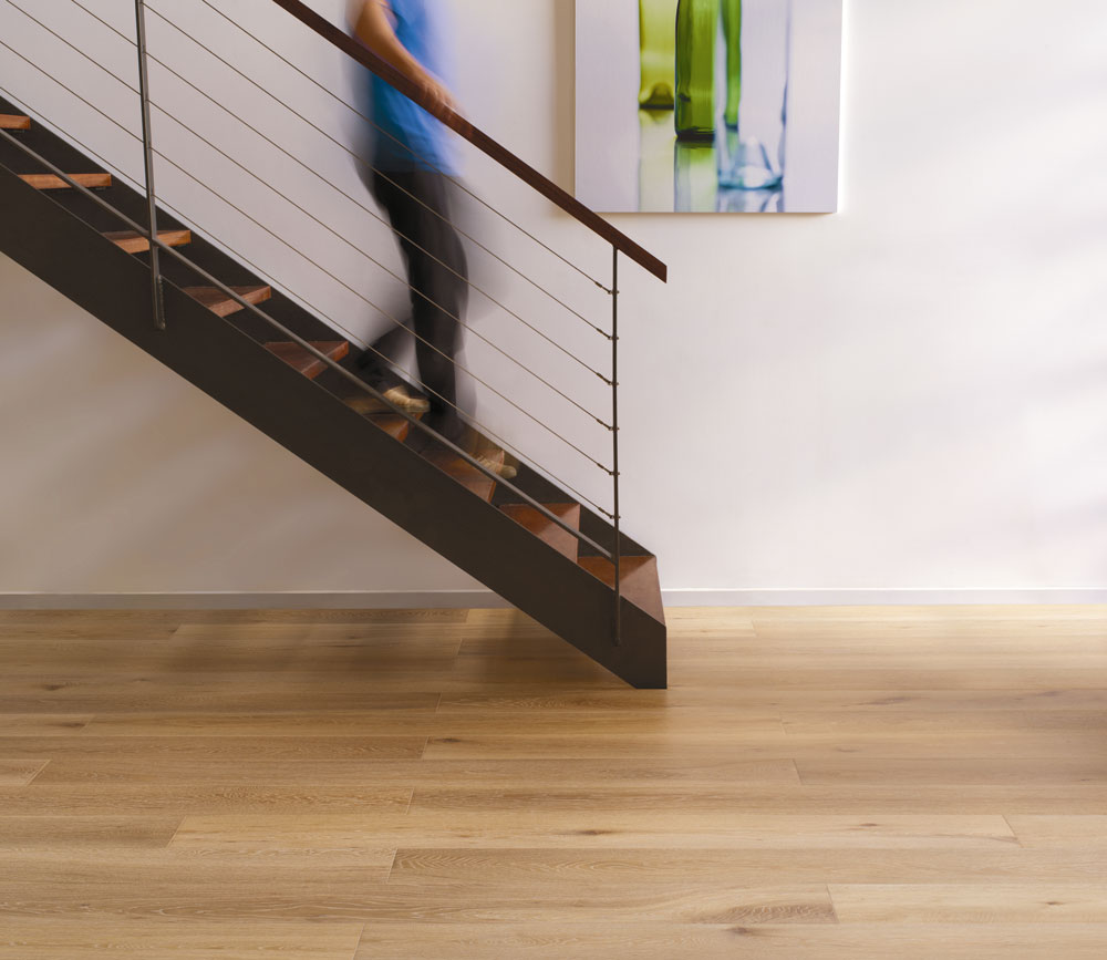 Heartridge Engineered Timber Woodland Oak Flooring Detail in Foxtail Colour Variety