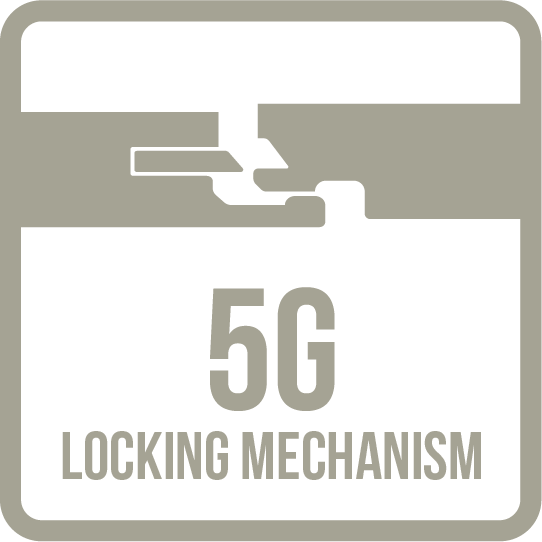 5G Locking Mechanism Icon